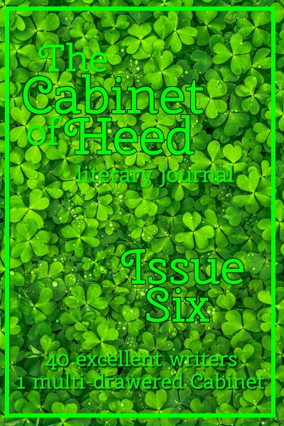 The Cabinet Of Heed Issue 06 Cover St Patrick's day