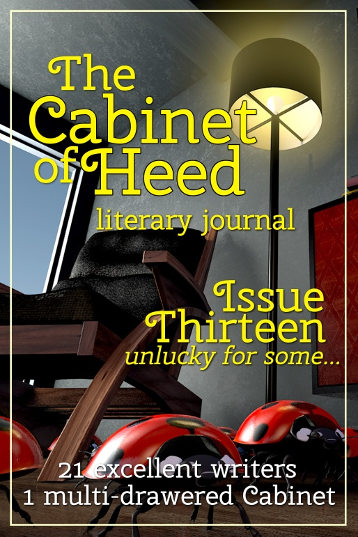 The Cabinet Of Heed Issue 13 Cover
