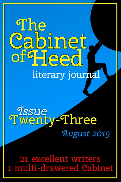 The Cabinet Of Heed Issue 23 Cover