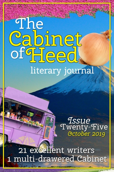 The Cabinet Of Heed Issue 25 Cover