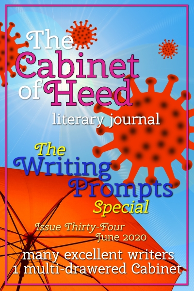 The Cabinet Of Heed Issue 34 Writing Prompts Special Cover