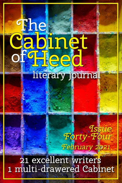 The Cabinet Of Heed Issue 44 Cover